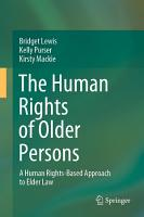 The Human Rights of Older Persons PDF