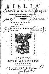 Biblia sacra juxta vulgatam editionem ... castigata