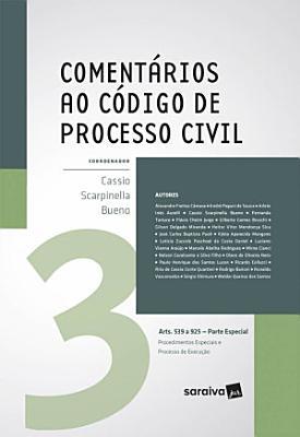 Coment  rios ao C  digo de Processo Civil Vol  3 PDF