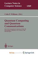 Quantum Computing and Quantum Communications