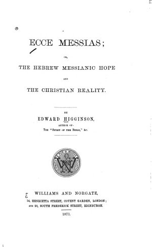 Ecce Messias