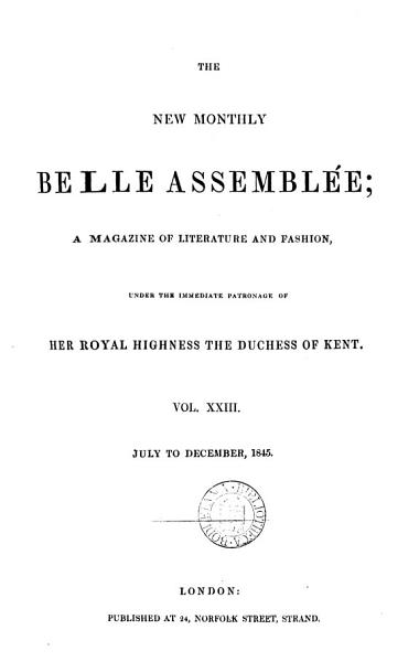 Download The New Monthly Belle Assembl  e Book