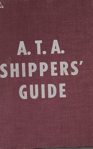 A.T.A. Motor Carrier Directory and A.T.A. Shippers Guides