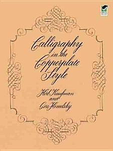 Calligraphy in the Copperplate Style Book