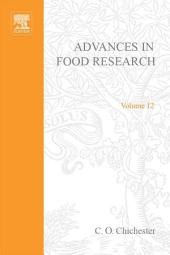 Advances in Food Research: Volume 12