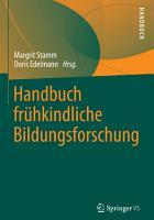 Handbuch fr  hkindliche Bildungsforschung PDF