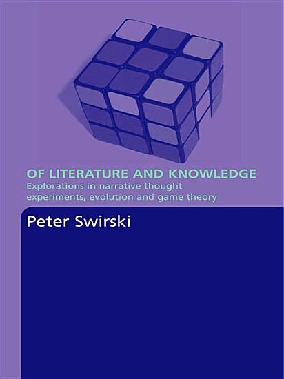 Of Literature and Knowledge PDF