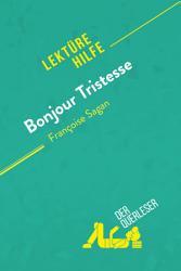 Bonjour Tristesse von Fran  oise Sagan  Lekt  rehilfe  PDF