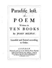 Paradise Loft. A Poem Written in Ten Books