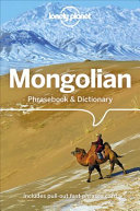 Lonely Planet Mongolian Phrasebook   Dictionary