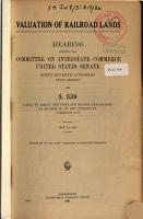 Voluation of Railroad Lands PDF
