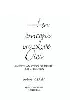 When Someone You Love Dies PDF