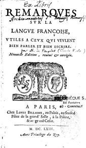 Remarques sur la langue française