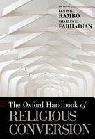 The Oxford Handbook of Religious Conversion PDF