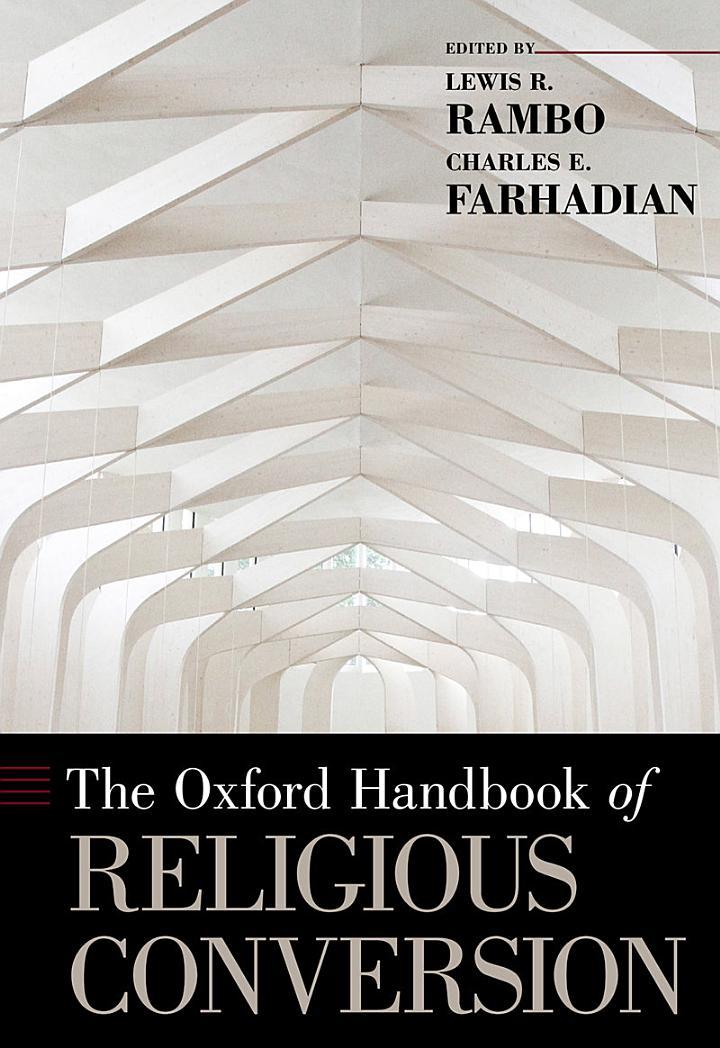 The Oxford Handbook of Religious Conversion