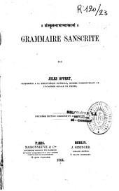 Grammaire sanscrite