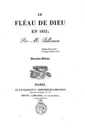 Le fléau Dieu en 1832