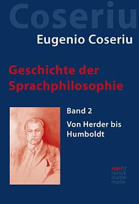 Geschichte der Sprachphilosophie PDF