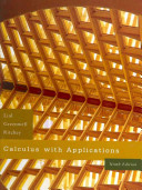 Calculus with Applications Value Pack  includes MathXL 12 month Student Access Kit and Student s Solutions Manual for Calculus with Applications