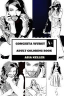 Conchita Wurst Adult Coloring Book