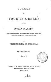 Journal of a tour in Greece and the Ionian islands