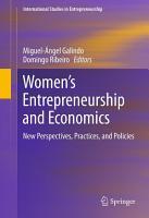 Women   s Entrepreneurship and Economics PDF