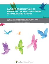 Nature   s Contributions to People  On the Relation Between Valuations and Actions PDF