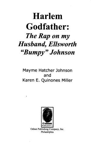 Harlem Godfather PDF