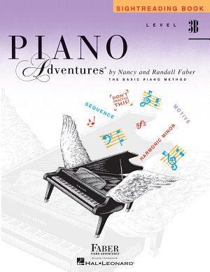 Piano Adventures : Level 3B Sightreading Book