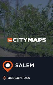 City Maps Salem Oregon, USA