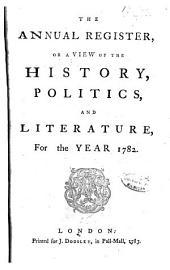Annual Register: Volume 25