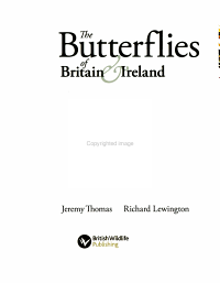 The Butterflies of Britain   Ireland PDF