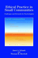 Ethical Practice in Small Communities PDF