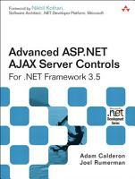 Advanced ASP NET AJAX Server Controls For  NET Framework 3 5 PDF