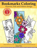 Bookmarks Coloring: Flowers, Fish and Pattern Design Vol. 2