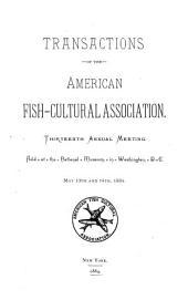 Transactions of the American Fish Culturists' Association