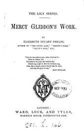 Mercy Gliddon's work