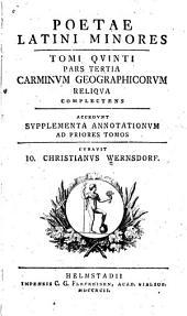 Poetae Latini minores: Carmina geographica. 3 v