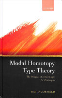 Modal Homotopy Type Theory PDF