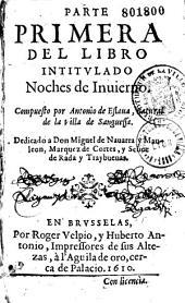 Parte primera del libro intitulado Noches de invierno, compuesto por Antonio de Eslava