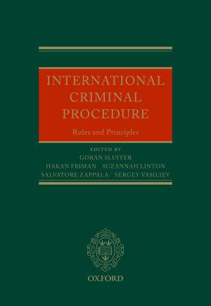 International Criminal Procedure PDF