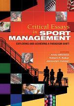 Critical Essays in Sport Management