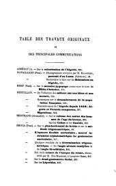 Bulletins de la Société d'Anthropologie de Paris: Volume 8