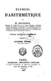 Elémens d'arithmétique: ouvrage adopté par l'université