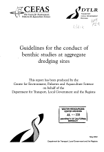 Guidelines for the Conduct of Benthic Studies at Aggregate Dredging Sites PDF