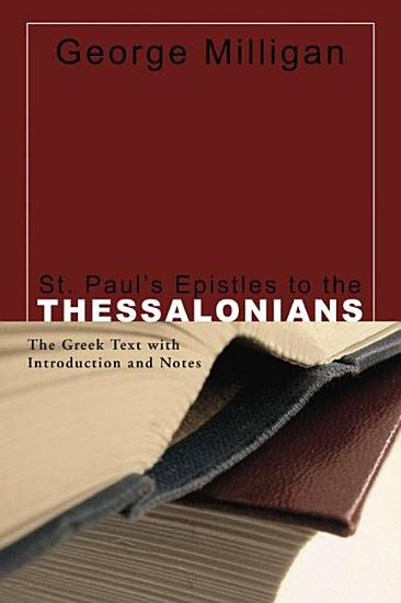 St  Paul s Epistles to the Thessalonians PDF