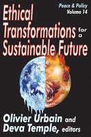 Ethical Transformations for a Sustainable Future PDF