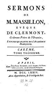Sermons. - Paris, Freres Estienne 1760-74: Volume3;Volume11