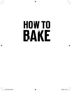 How to Bake Book
