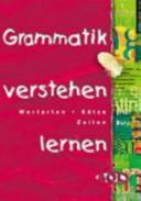 Grammatik verstehen lernen PDF